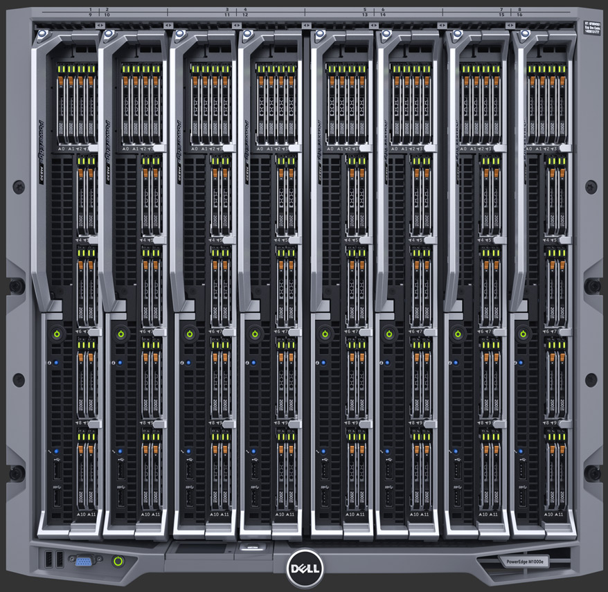 MÁY CHỦ SERVER DELL POWEREDGE M1000E BLADE ENCLOSURE