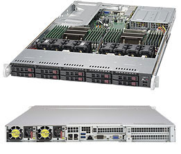 MÁY CHỦ SERVER SUPERSERVER 1028U-TNR4T+ E5-2600 v3 family