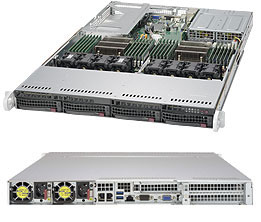 MÁY CHỦ SERVER SUPERSERVER 6018U-TR4T+  Dual socket R3
