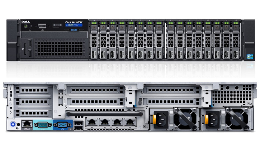 MÁY CHỦ DELL POWEREDGE R730 - E5-2630V3 2.4GHz