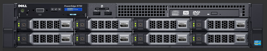 MÁY CHỦ SERVER DELL POWEREDGE R730 E5-2630 V4 2.2GHZ
