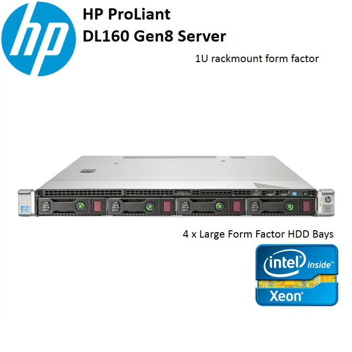 MÁY CHỦ SERVER HP PROLIANT DL160 G8 INTEL XEON E5-2650